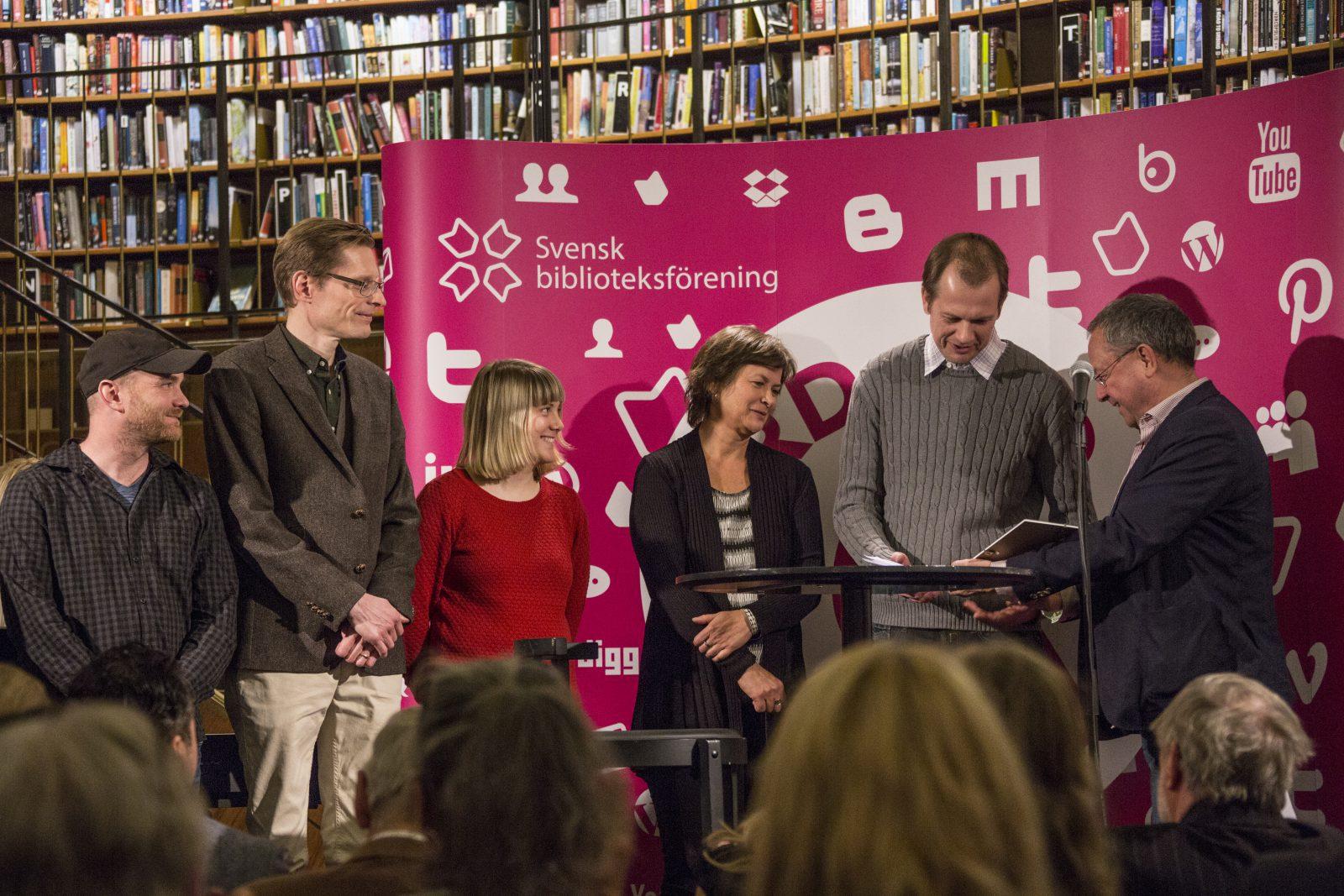 Jönköpings bokbuss får Årets bokbuss pris