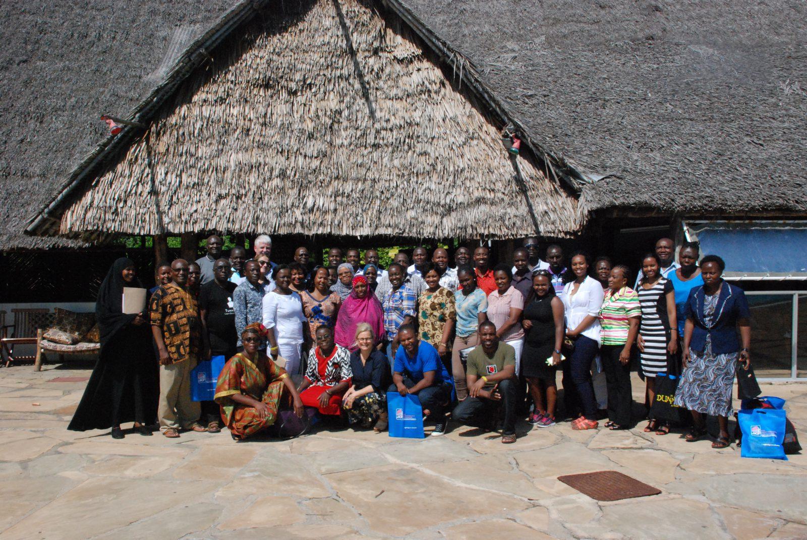 Gruppbild från Kenya 2017